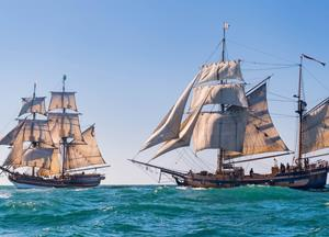 Climb Aboard These Historical Revolutionary War Era Ships That Are Sailing Into Oregon